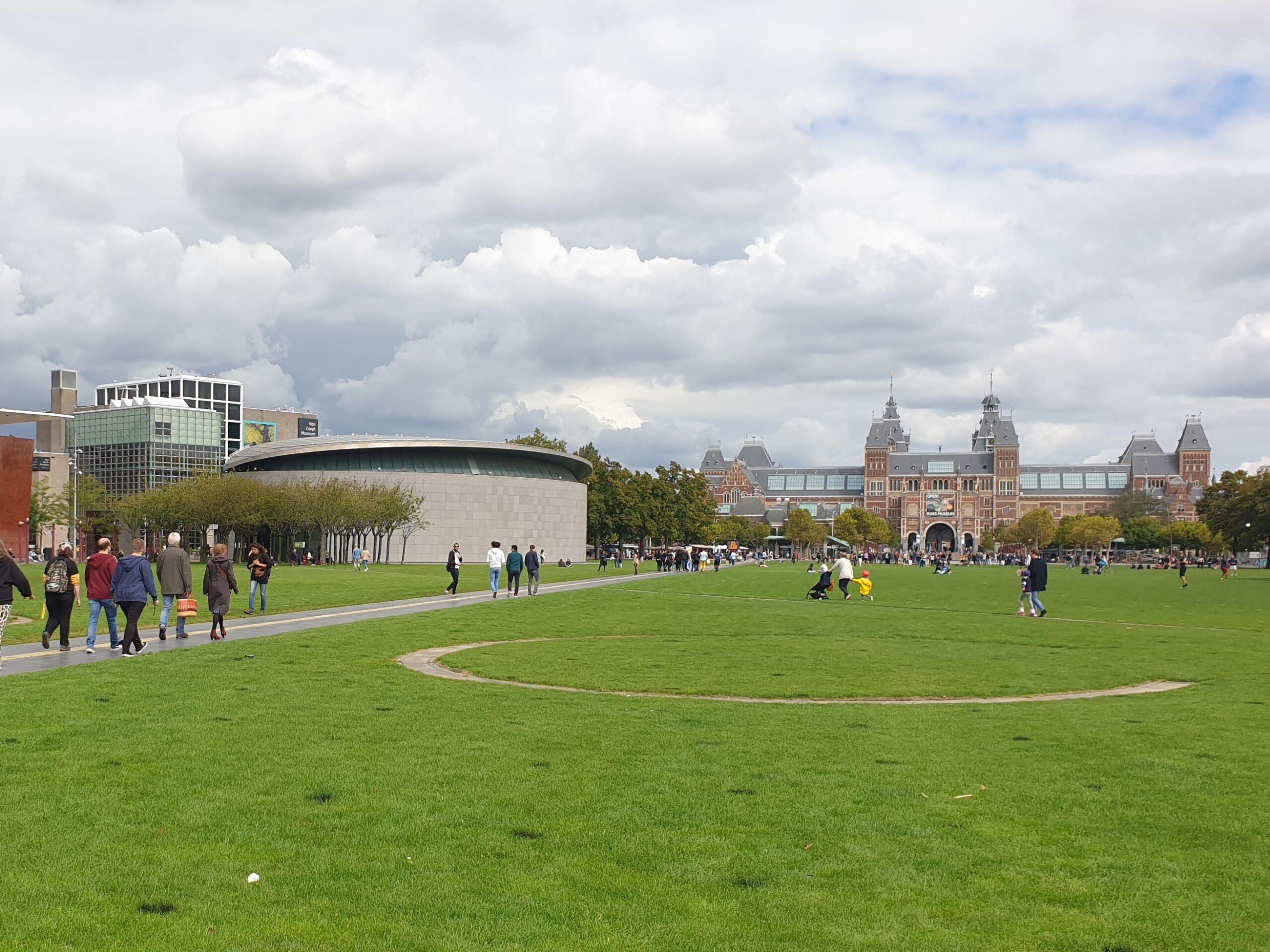 Quartier des musées Amsterdam (c) Alain Demaret