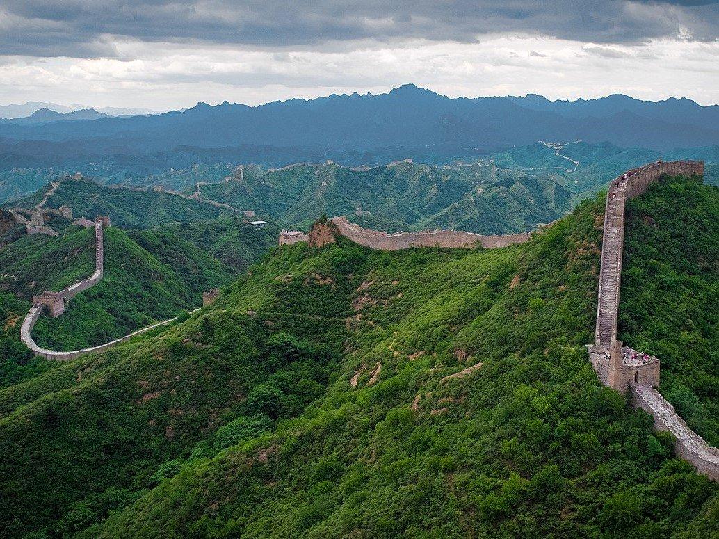 La Grande muraille ed Chine (c) Wiki Commons